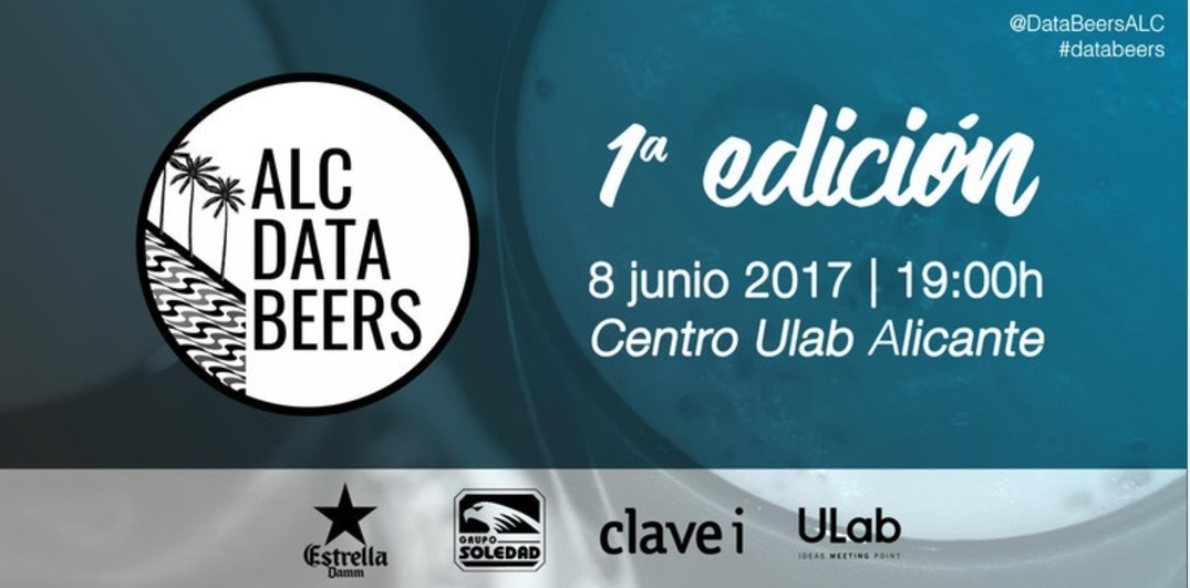 "The first edition of ""DataBeers"" arrives in Alicante on June 8"